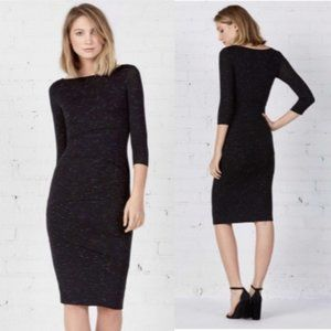 Bailey 44 Tiered Black Lounge Dress Small